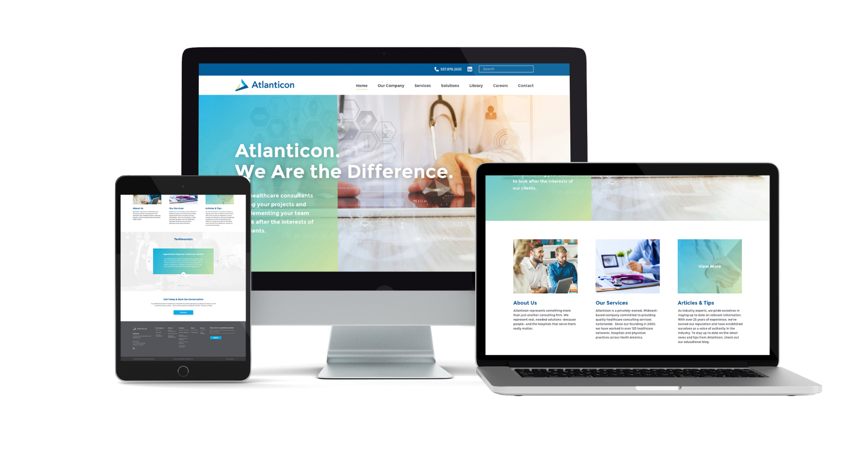 Atlanticon responsive website