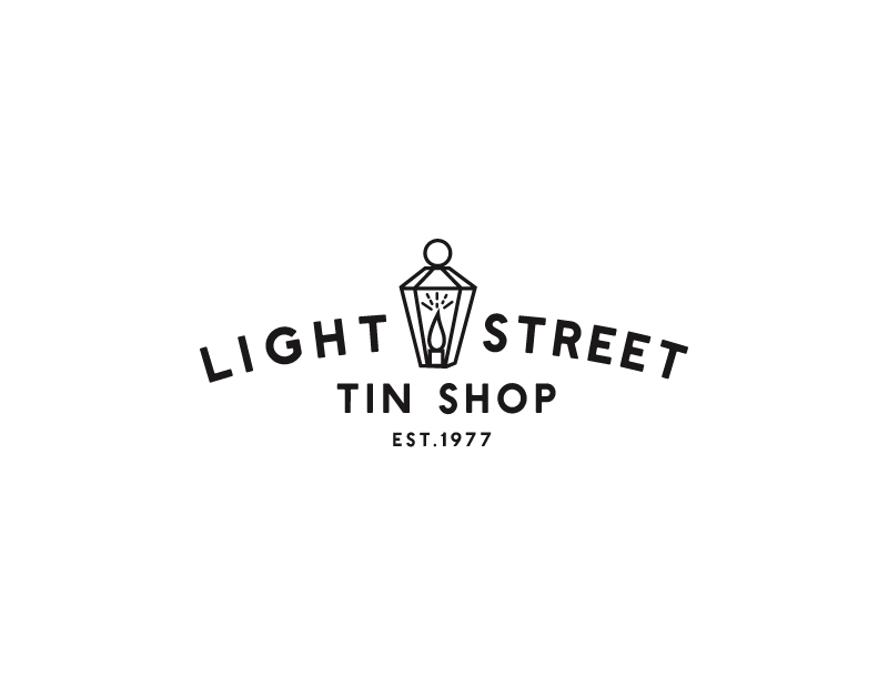 Light Street Tin Shop Logo Design