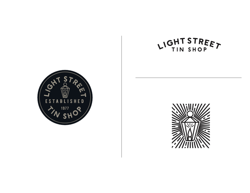 Light Street Tin Shop Secondary Logos